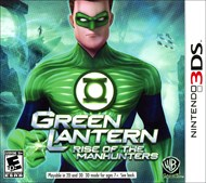 Rent Green Lantern: Rise of the Manhunters for 3DS