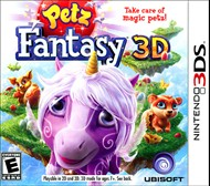 Rent Petz Fantasy 3D for 3DS