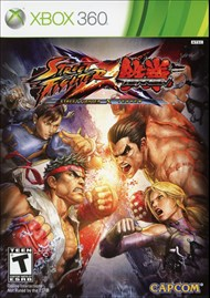 Rent Street Fighter X Tekken for Xbox 360