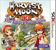 Rent Harvest Moon: Tale of Two Towns for 3DS