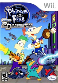 Rent Phineas and Ferb: Across the Second Dimension for Wii