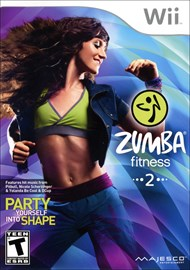 Rent Zumba Fitness 2 for Wii