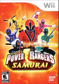 Rent Power Rangers Samurai for Wii