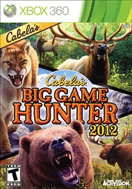 Rent Cabela's Big Game Hunter 2012 for Xbox 360