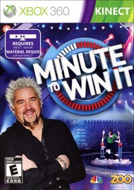 Rent Minute To Win It Kinect for Xbox 360