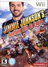 Rent Jimmie Johnson's Anything with an Engine for Wii