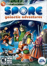 Download SPORE Galactic Adventures for PC