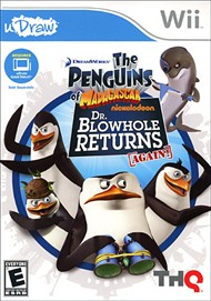 Rent Penguins of Madagascar - uDraw: Dr. Blowhole Returns Again for Wii