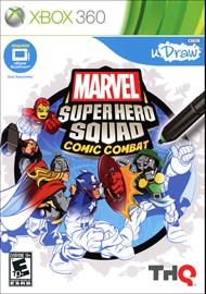 Rent Marvel Super Hero Squad: Comic Combat - uDraw for Xbox 360