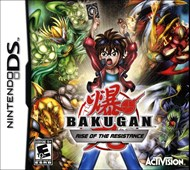 Rent Bakugan: Rise of the Resistance for DS
