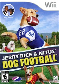 Rent Jerry Rice & Nitus' Dog Football for Wii