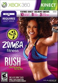 Rent Zumba Fitness Rush for Xbox 360