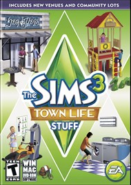 Download The Sims 3 Town Life Stuff for PC