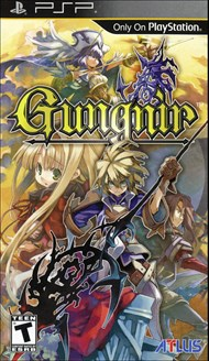 Rent Gungnir for PSP Games