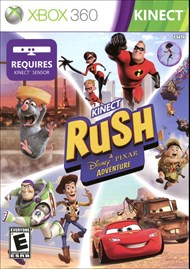 Rent Kinect Rush: A Disney-Pixar Adventure for Xbox 360