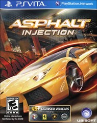 Rent Asphalt Injection for PS Vita