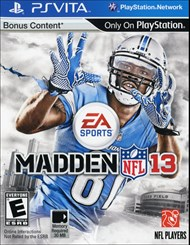 Buy Madden NFL 13 for PS Vita