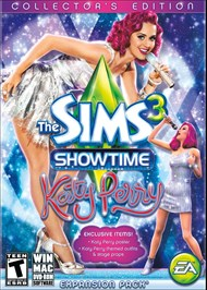Download The Sims 3 Showtime Katy Perry Collector's Edition for PC
