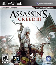 Rent Assassin's Creed III for PS3
