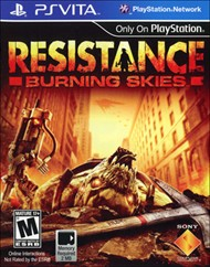 Rent Resistance: Burning Skies for PS Vita