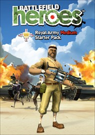 Battlefield Heroes Royal Army Medium Starter Pack