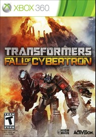 Rent Transformers: Fall of Cybertron for Xbox 360