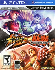 Rent Street Fighter X Tekken for PS Vita