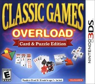Rent Classic Games Overload: Card and Puzzle Edition for 3DS