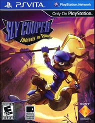 Rent Sly Cooper: Thieves in Time for PS Vita