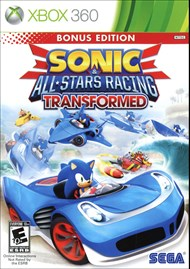 Rent Sonic & All-Stars Racing Transformed for Xbox 360