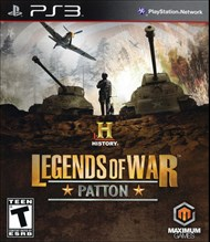 Rent History Legends of War: Patton for PS3