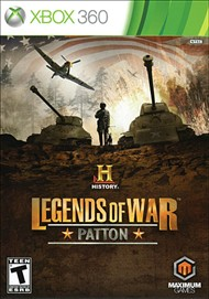 Rent History Legends of War: Patton for Xbox 360