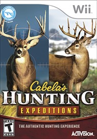 Rent Cabela's Hunting Expeditions for Wii