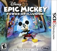 Rent Disney Epic Mickey: Power of Illusion for 3DS