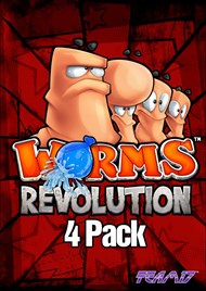 Worms Revolution 4 Pack