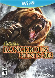 Rent Cabela's Dangerous Hunts 2013 for Wii U