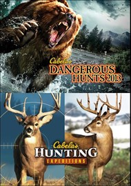 Cabela's Dangerous Hunts 2013 and Cabela's Hunting Expeditions Bun