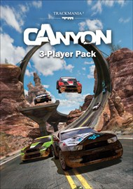 TrackMania 2 Canyon 3-Player Pack