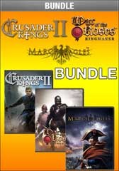 Crusader Kings 2, War of the Roses: King Maker, and March of the Eagles Bundle