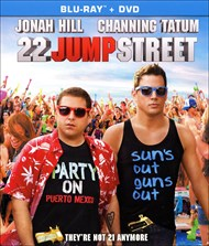 This likable, self-aware comedy reunites 21 Jump Street's unlikely cop partners Jenko (Channing Tatum) and Schmidt (Jonah Hill), along with their crusty boss Ice Cube. The mismatched cops have clearly grown too old for high school, so they head off to college to rat out fraternity brothers who are dosing co-eds with WHYPHY, a dangerous new methlike drug. Through their investigation, Jenko becomes very involved in fraternity life, putting the pair's jobs and larger-than-life bromance on the line. The set pieces are bigger this time, as is the budget, but not everything has changed. 21 Jump St