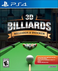 Image of 3D Billiards: Billiards & Snooker - Pre-Played