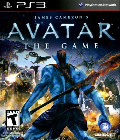 Avatar Games: James Cameron's Avatar: The Game PlayStation 3 Video Game