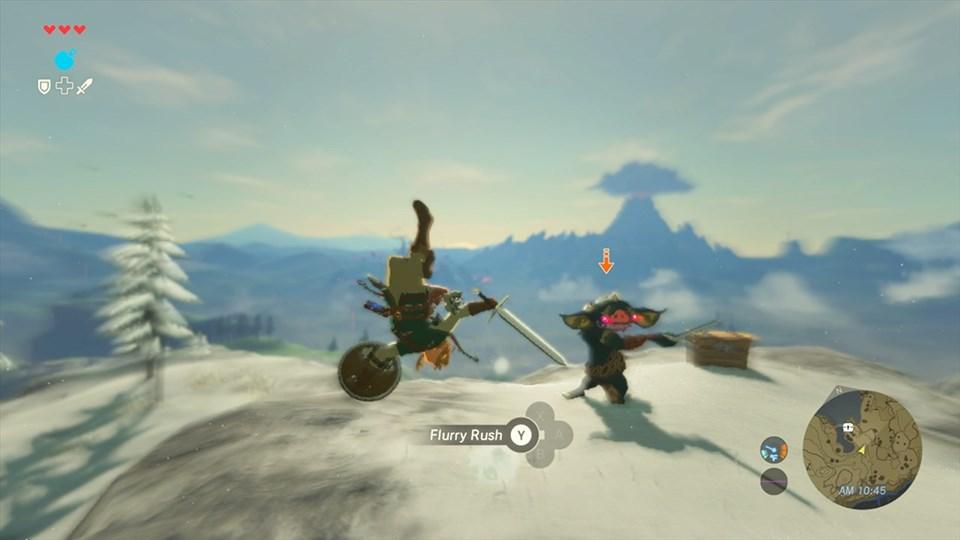 The Legend of Zelda: Breath of the Wild Screenshot 2