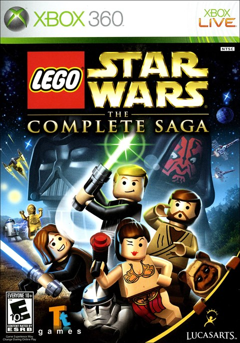 Rent LEGO Star Wars: The Complete Saga on Xbox 360 - www.gamefly.com
