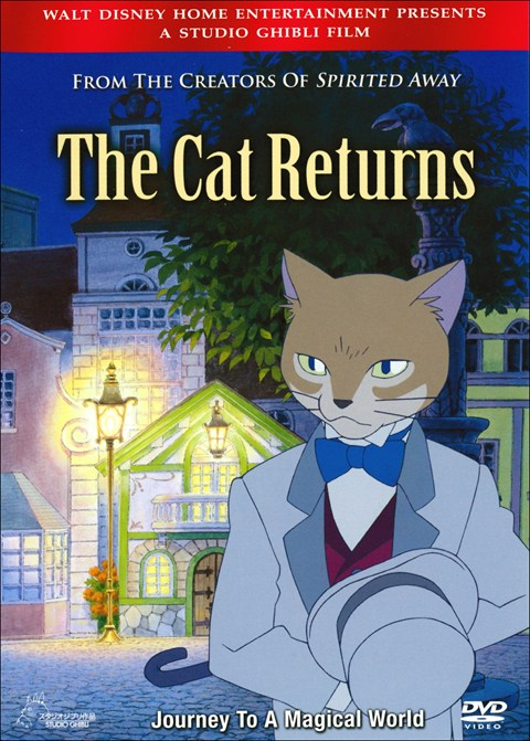 Image result for the cat returns dvd